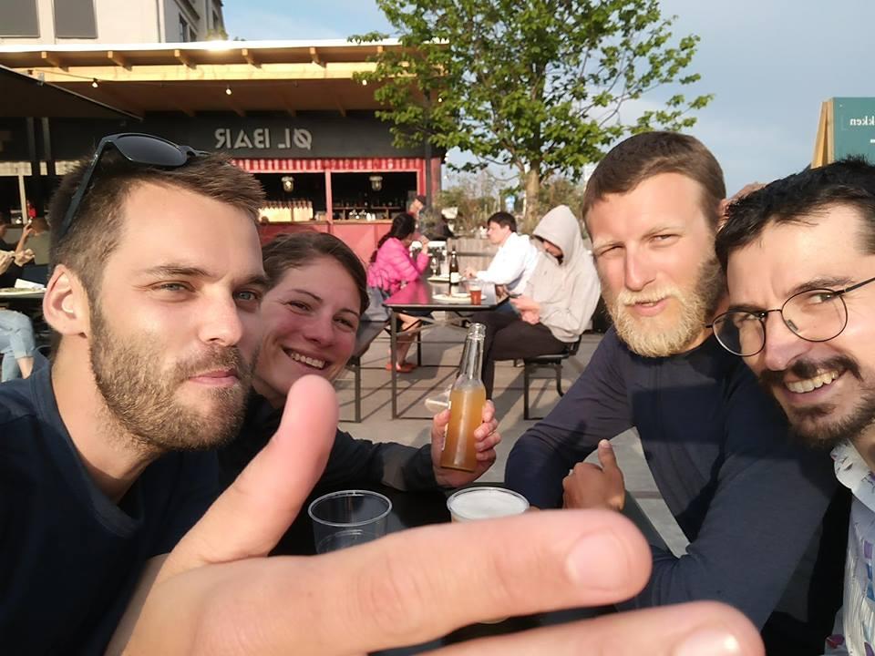Petite bière avec Antoine et Arthur
