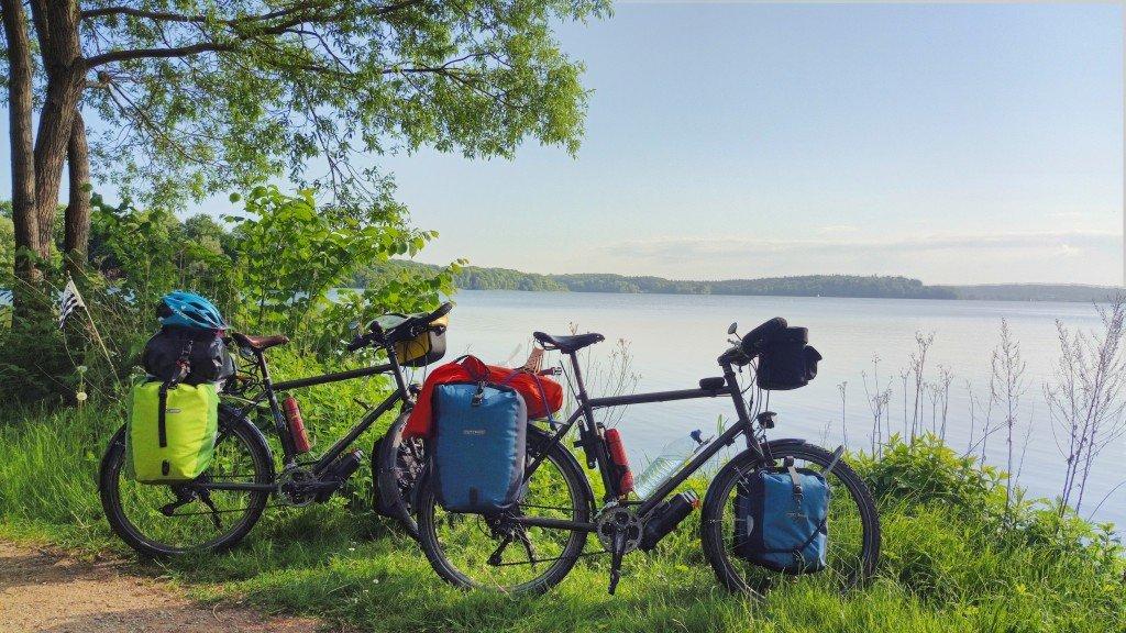 Pause au bord du lac...
