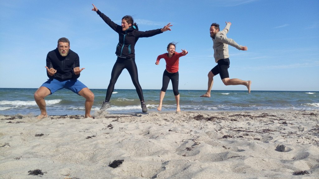 Baltic sea!! Nous voilà!