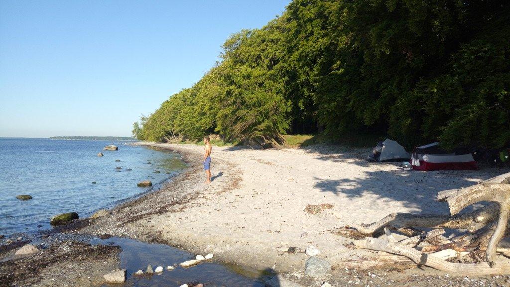 Bivouac en bord de mer (2)
