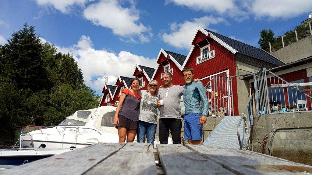 Merete et Jan-Boerge, une très belle rencontre sur le port de Knarvig