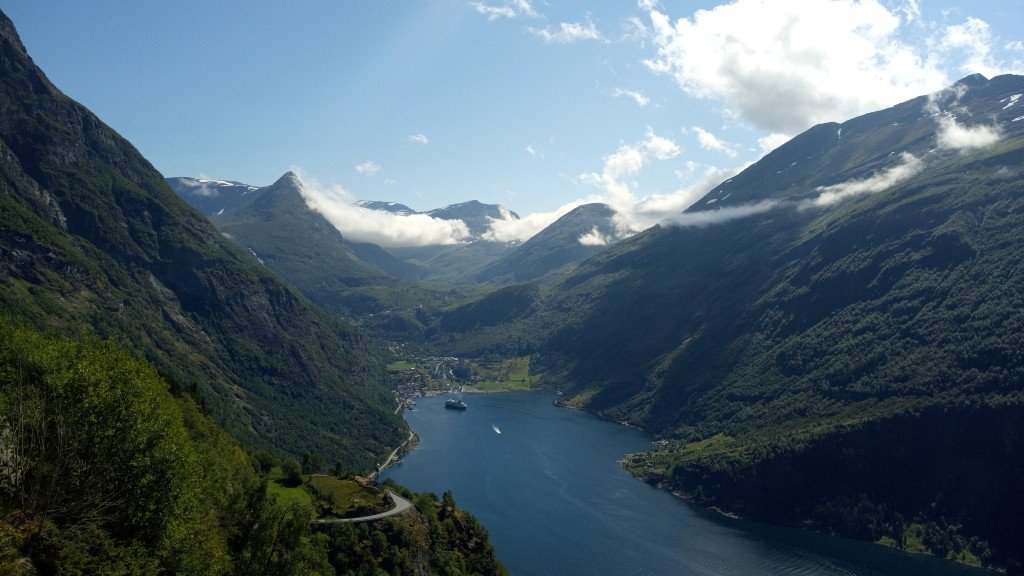 Après l'effort, le réconfort : la vue sur le Geirangerfjord