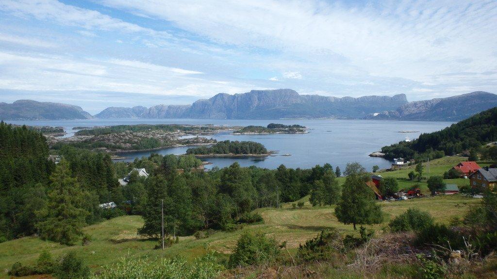 Vue sur le Sognefjord, le plus grand fjord norvégien