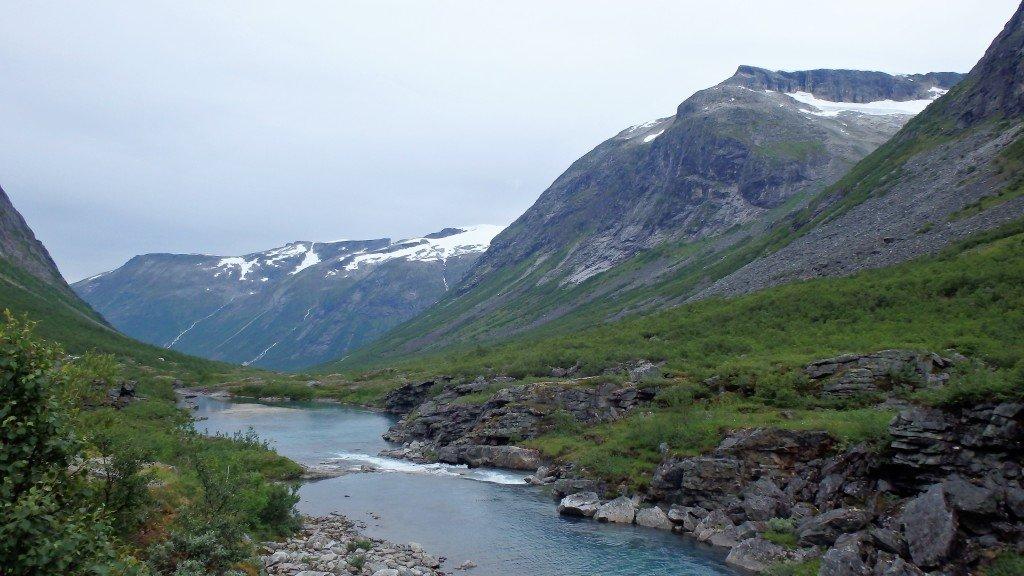 Sur la route entre Geiranger et Trollstigen