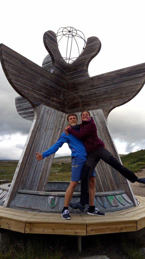 Sur le cercle polaire arctique (66°33)