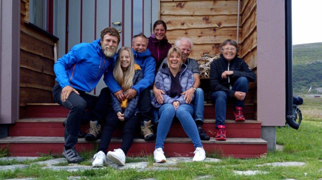 La famille d'Ingunn et Rognvald, une famille sami au grand cœur