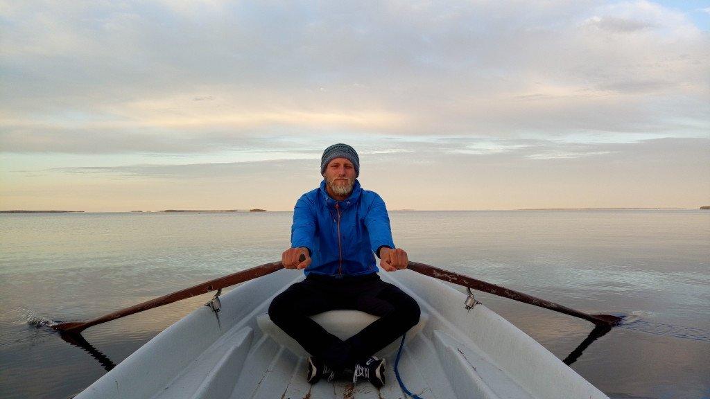 Balade en barque sur le lac Oulujarvi