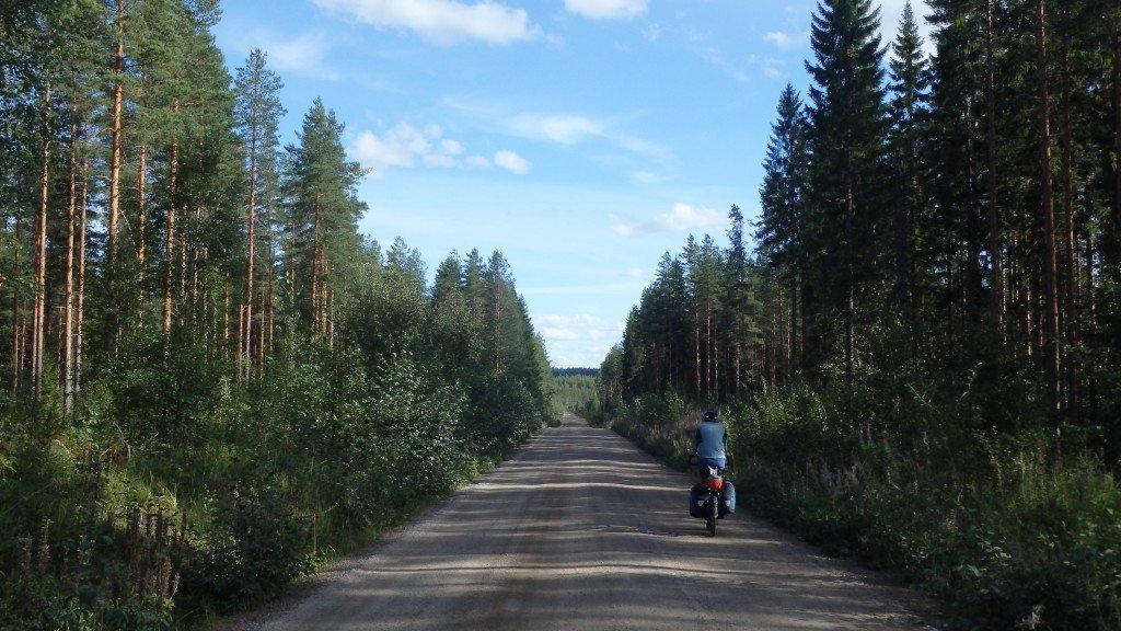 Les longues routes de graviers