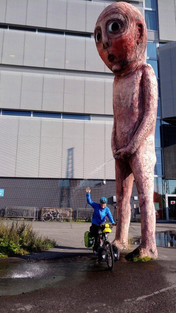 Weird art style in Helsinki!