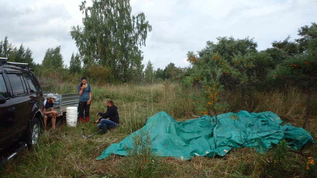 Sur les terres d'Ergo et Kadi. Prêts pour la récolte des argousiers!