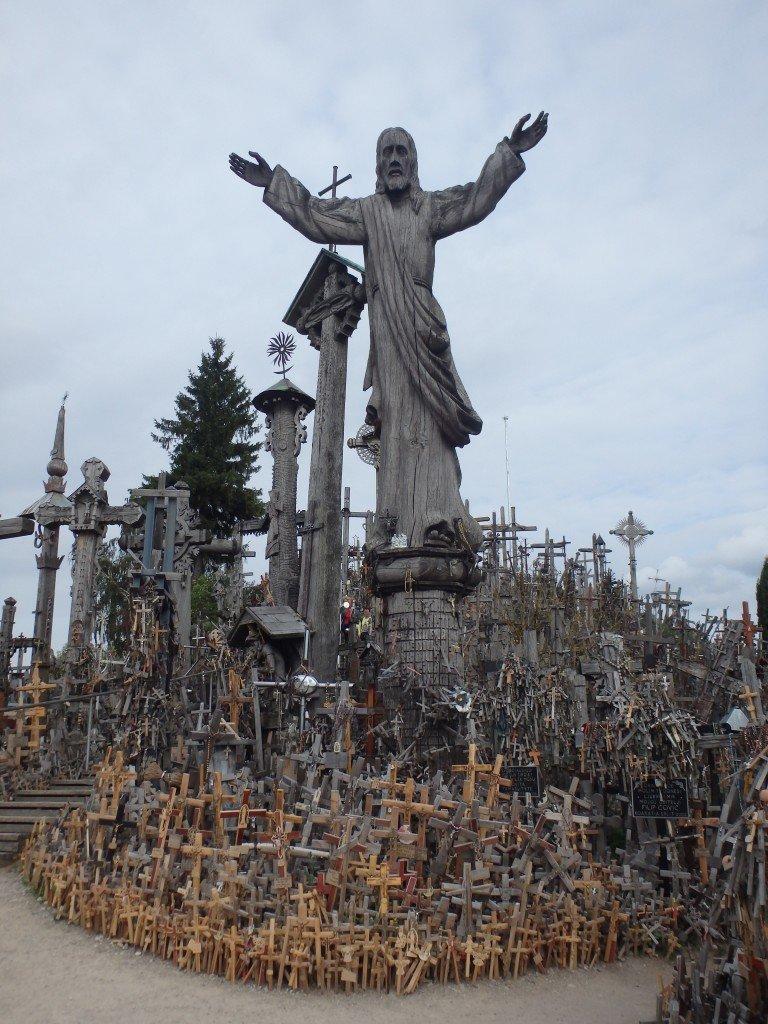 La colline des croix (au dessus de Siauliai)