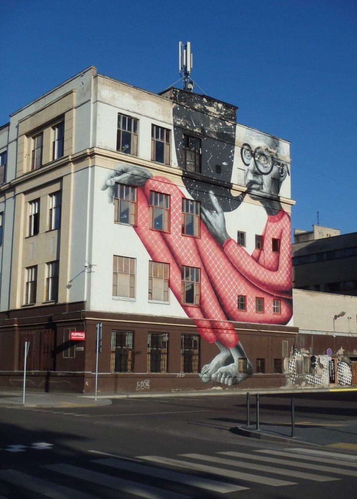 Street art dans Kaunas